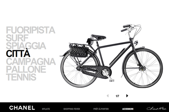 Bicicletta Chanel: I want to ride my bicycle