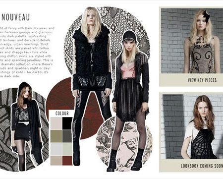 Topshop autumn winter collections!