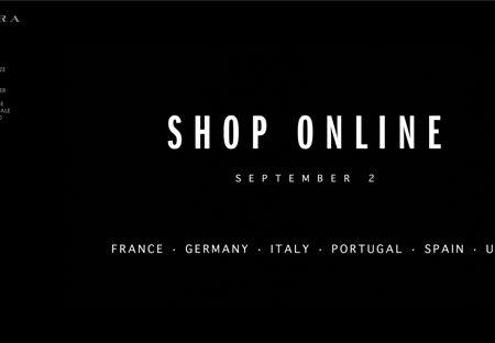 Zara: arriva lo shop online