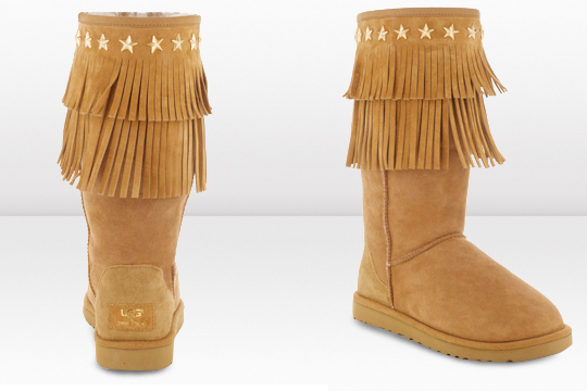 Jimmy Choo e UGG