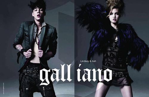 John Galliano ad campaign FW 2010/11
