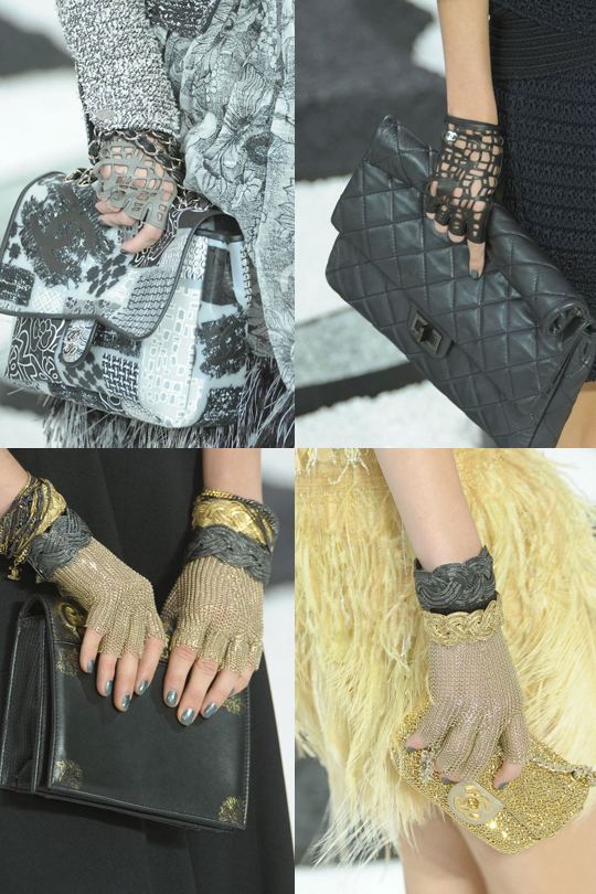 Chanel's summer gloves