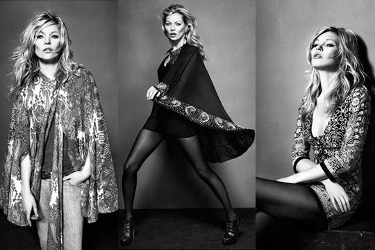 Kate Moss per Topshop: collezione autunno-inverno
