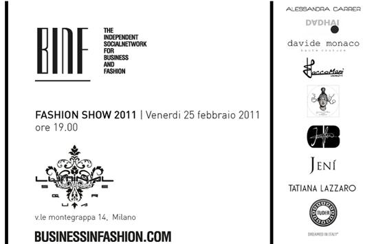 BINF fashion show 2011