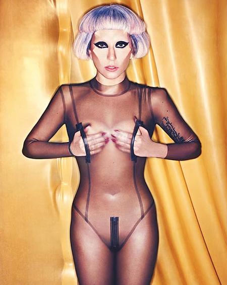 Lady Gaga nuda e cruda su NME