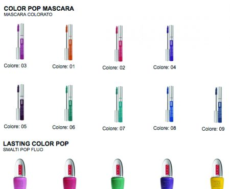 PUPA Color pop – Limited edition