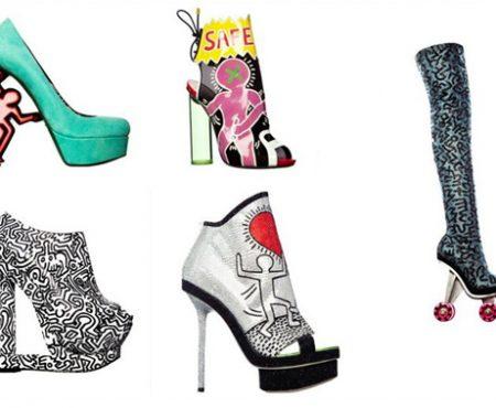 Nicholas Kirkwood + Keith Haring = ?