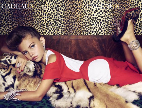"""Quando la moda cade in basso: lo scandalo delle """"baby sexy dive"""""""