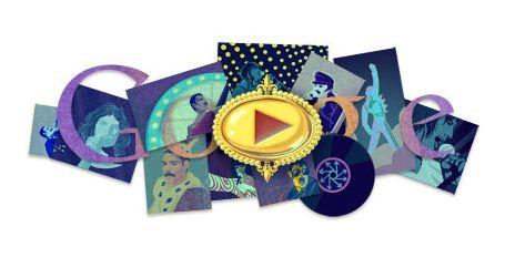 Google: il primo doodle di animazione è dedicato a Freddy Mercury