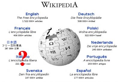 """Wikipedia Italia: """"Legge bavaglio? Piuttosto la chiusura"""""""