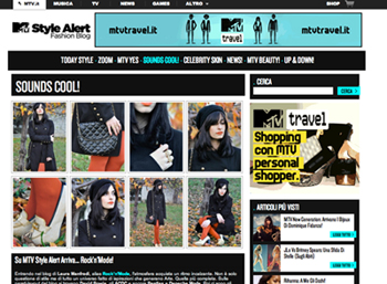 Autumn in London: My look for MTV style alert!