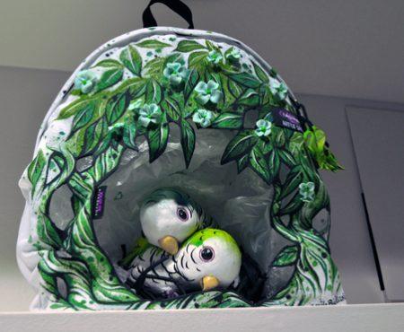 Eastpak Artist Studio 2012: zaini come opere d'arte a scopo benefico
