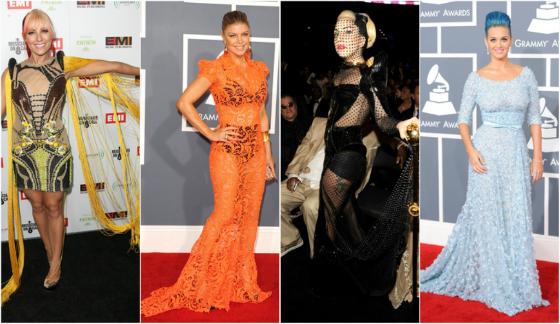 Le meglio e le peggio vestite ai Grammy Awards 2012