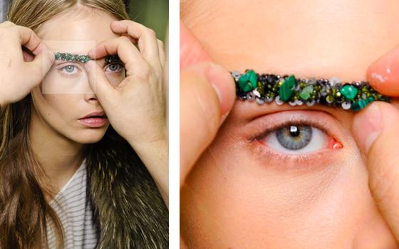 Beauty trend: dalla Paris fashion week arrivano le sopracciglia gioiello di Chanel