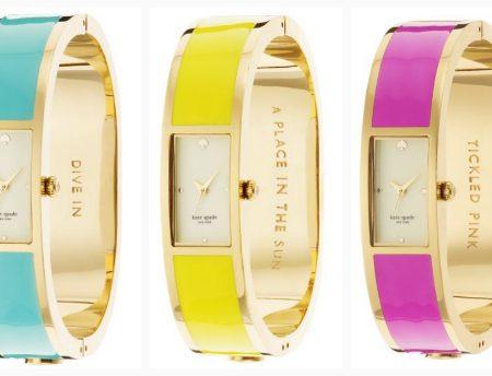 Carousel bangle: i nuovi orologi di Kate Spade