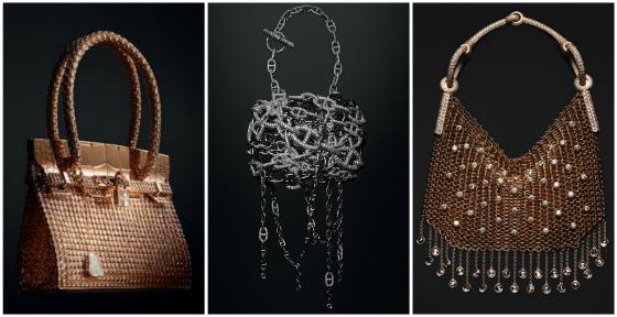 Dalla Kelly alla Birkin: le borse più famose di Hermés vengono ricoperte di diamanti