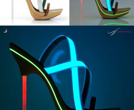 Alessio Spinelli: una collezione unica nel suo genere, tra neon e accessori intercambiabili