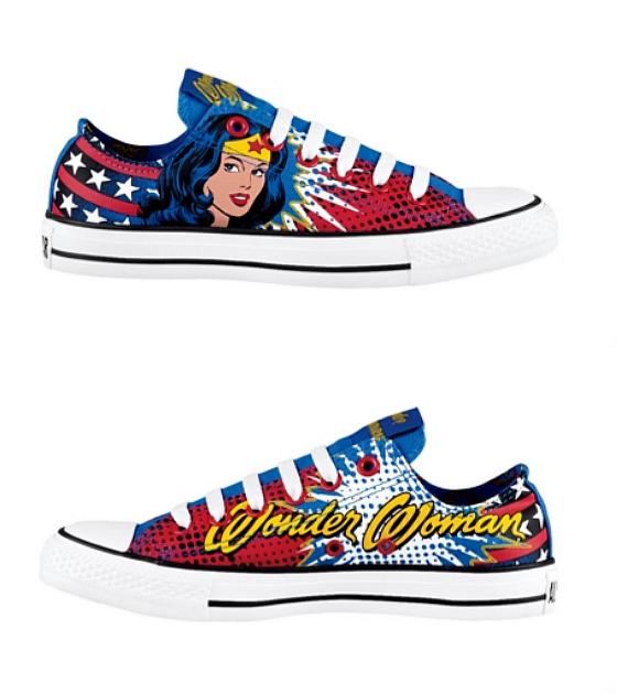 Dc comics per Converse: le nuove Chuck Taylor dedicate a Wonder Woman