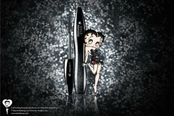 Lancôme reinventa il glamour: Daria Werbowy e Betty Boop insieme per Hypnôse Star