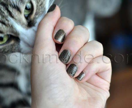 """REVIEW – Dior Vernis """"Golden Jungle"""" Nail Art Duo, per unghie effetto coccodrillo"""