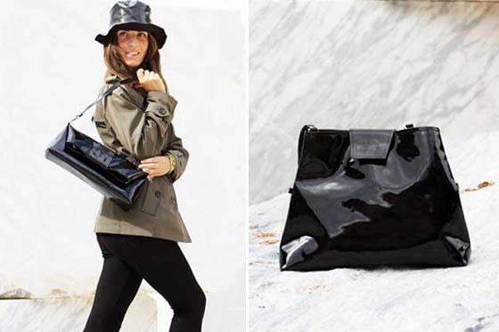 Trapezio bag by Macadamia: la shopping bag che diventa pochette