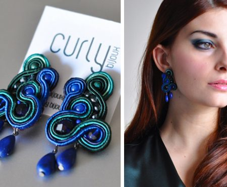 Curly Bijoux: la nuova collezione Couture e la tecnica del soutache