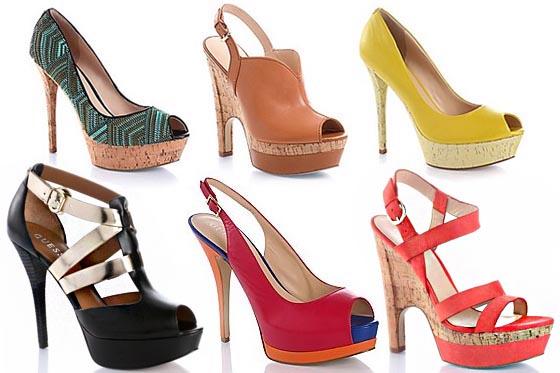 Guess: collezione scarpe primavera-estate 2013