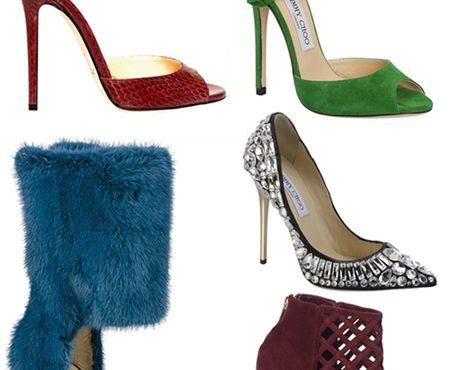 Scarpe Jimmy Choo: collezione autunno-inverno 2013/14