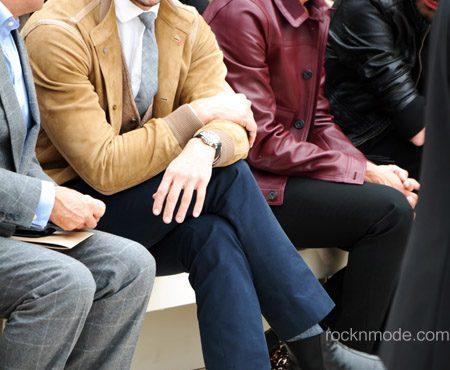 LFW – Burberry Prorsum uomo: celebrity e streetstyle