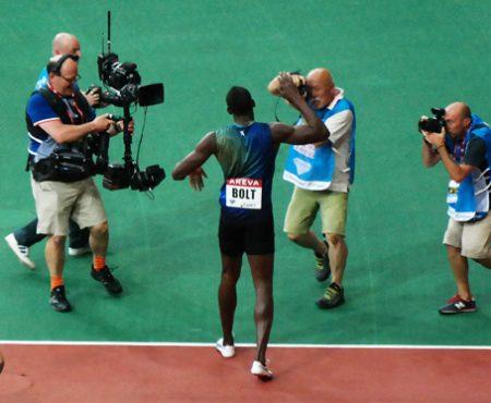 NX300 Night: a Parigi per un evento esclusivo con Usain Bolt