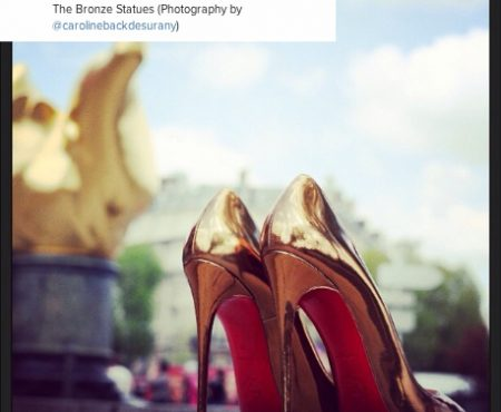 Christian Louboutin loves instagram