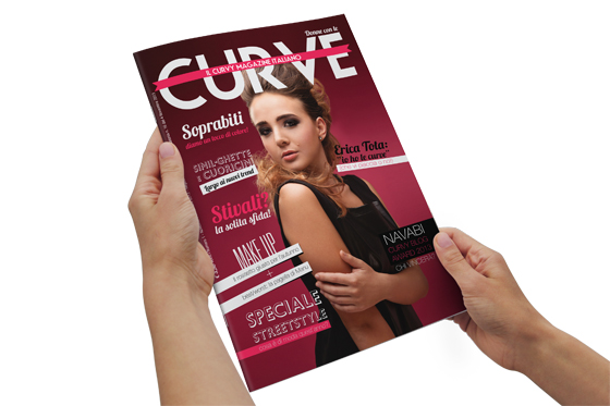 Donne con le curve: il primo magazine italiano dedicato al mondo curvy