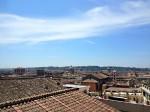 Roma, Vista da Piazza di Spagna, scalinata piazza di Spagna