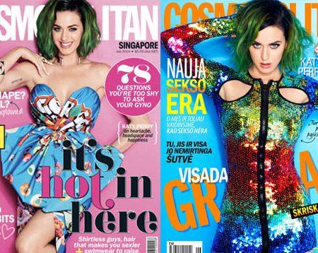 Katy Perry scelta come prima Global Cover Girl di Cosmopolitan