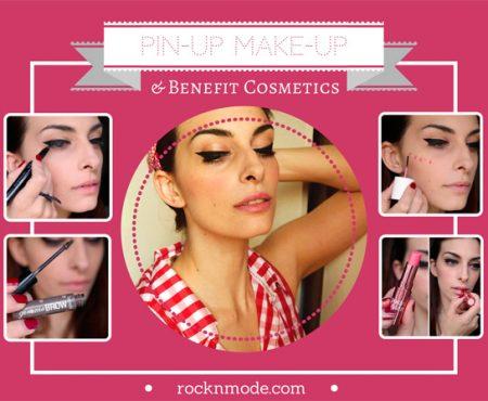 Make-up tutorial – Trucco da Pin-up anni 50