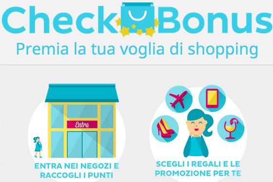 CheckBonus: la prima app che premia la passione per lo shopping