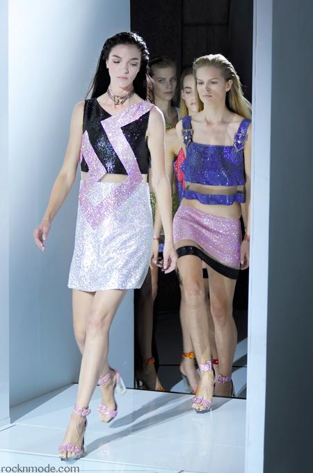 Versace ss 2015, Joan Smalls, MFW, Milan Fashion week, Laura Manfredi, settimana della moda milanese, moda italiana, Versace primavera estate 2015, Versace
