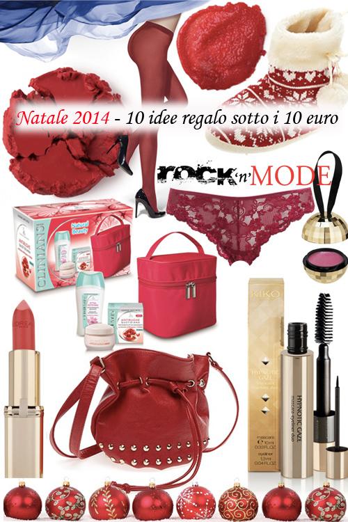 Natale 2014 – 10 idee regalo sotto i 10 euro