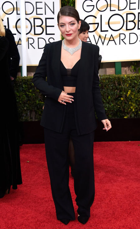 Lorde, Golden Globes, Golden Globe Awards 2015