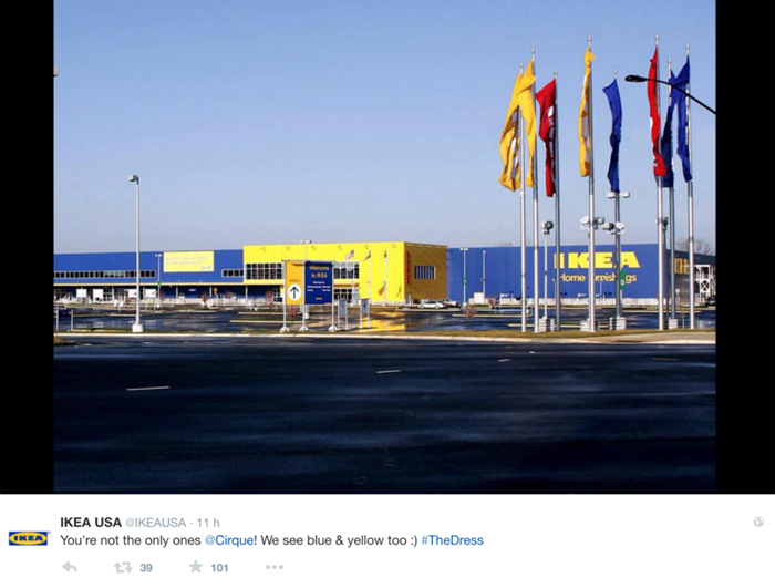 Ikea, #TheDress: i geni del marketing (e non solo) sempre sul pezzo, #thedress, brand #thedress, meme #thedress, white and gold, black and blue, #whiteandgold #blackandblue,