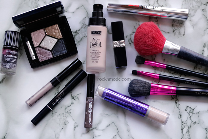 Pupa active light, make-up of the day, pennelli Sephora, Pennello Backstage Dior, Pupa Vamp!, Armani eyes to kill liner,Rouge Dior Baume Lili rossetto, Physician Formula Youthful wear correttore, Laura manfredi make-up, Laura Manfredi beauty blogger, review beauty