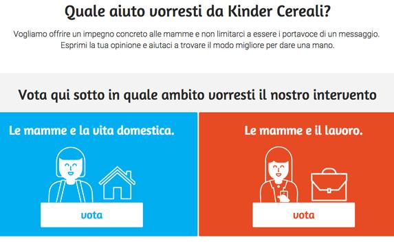 Kinder Cereali: l'iniziativa che offre un aiuto concreto alle mamme