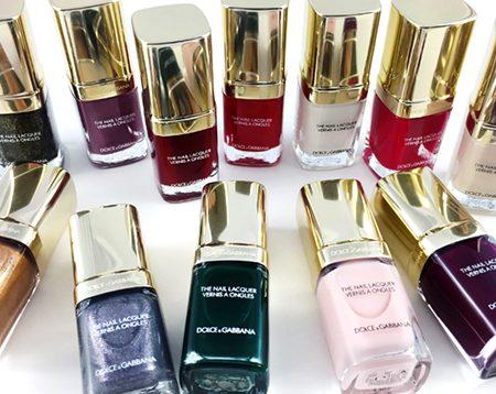 Smalti Dolce&Gabbana Nail Restage: le nuove tonalità