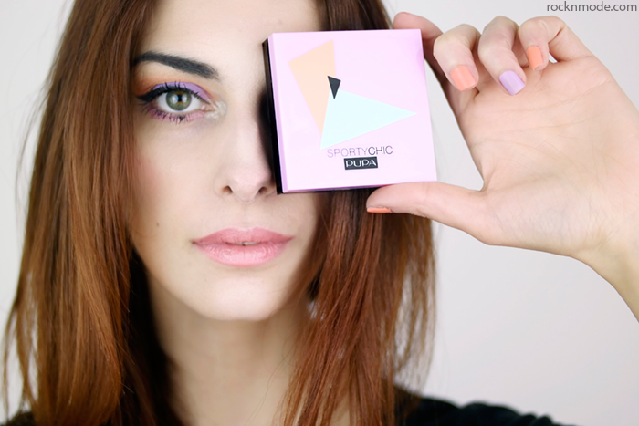 Blog beauty, beauty blogger italiane, Pupa SportyChic, pupa collezione primavera 2015, ombretti in crema pupa, eyeliner stilo, colori pastello per la primavera, Laura manfredi beauty blogger, beauty review,