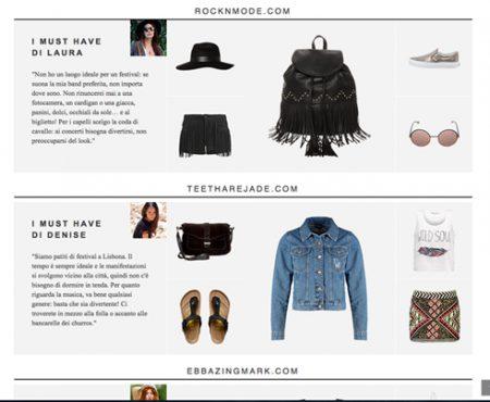Outfit – Festival project Zalando #iamready4festivals