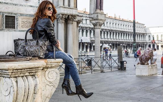 Video + shooting a Venezia per Sergio Levantesi e Arcadia Bags