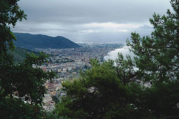 Belvedere Castello Arechi Salerno