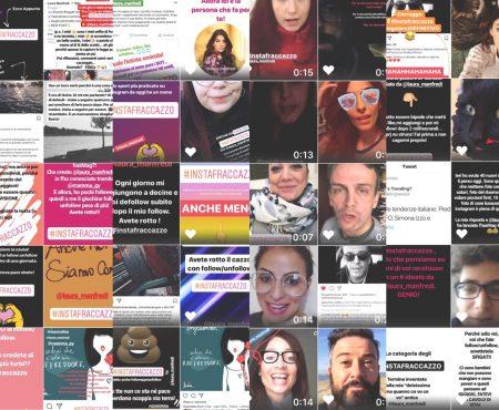 Campagna #instafraccazzo, contro il follow/unfollow selvaggio