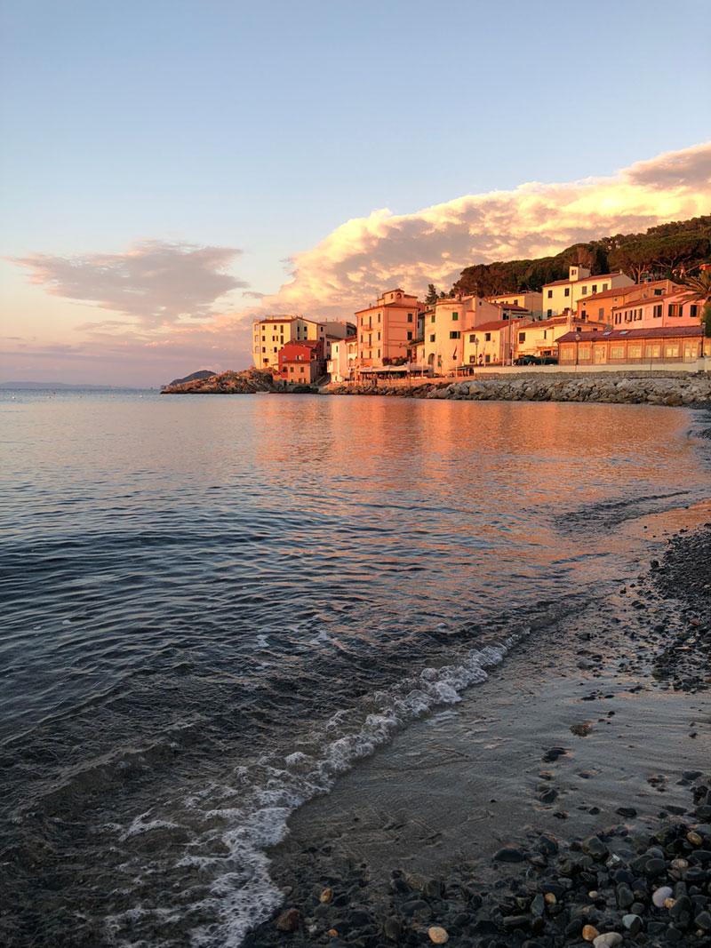 tramonto a Marciana Marina
