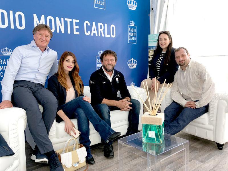 Giovanni Soldini ospite di Radio Montecarlo